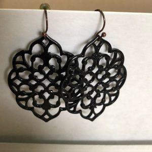Black Lulu's Earrings